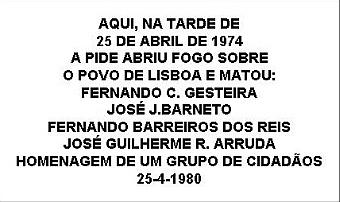 placa António Mª Cardoso