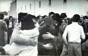 Saída dos presos de Caxias - Abril 1974