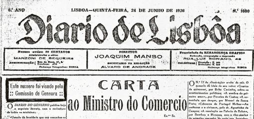 Diário de Lisboa - 1926