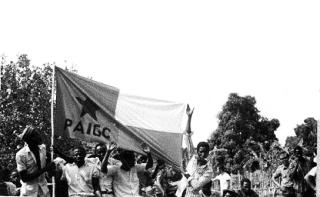 Guiné 1974 - PAIGC em Pelundo