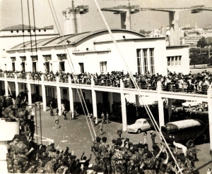 Embarque de tropas