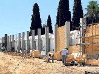 Badajoz - muro contra a memória