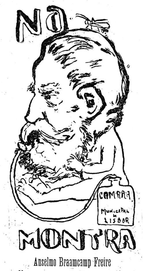 Dirigindo a CML, O Zé, 1911