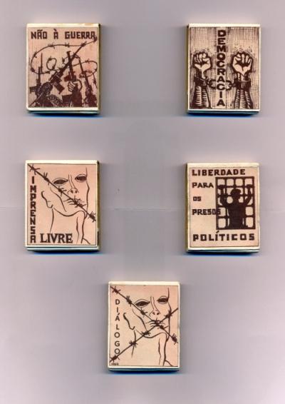 Carteiros de fósforos - CDE 1969
