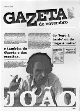 Gazeta, Novembro 2009