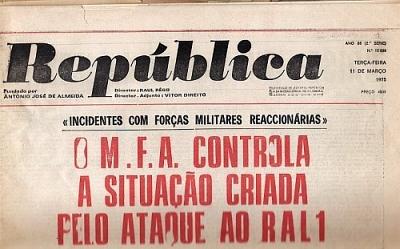 Resultado de imagem para 11 DE MARÇO DE 1975